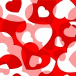 Royalty-Free Stock Vector Image: Hearts  seamless background.