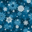 Snowflakes seamlessly pattern. — Stock Vector #4232779