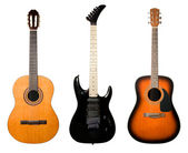 Guitars set. — Stockfoto