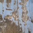 Scratching oil paint on wood surface. — Stock Photo