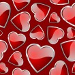 Hearts seamless pattern. — 图库矢量图片 #4593561