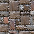 Royalty-Free Stock Photo: Stony wall seamless pattern.