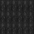 Metal tiles seamless background. — Stock Photo