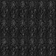 Metal tiles seamless background. — Stock Photo #5146722