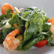 Salad with shrimps — Stock Photo #4222831