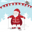 Royalty-Free Stock Vector Image: Santa