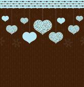 Valentinky pozadí — Stock vektor