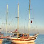 Yat ile deniz manzara — Stok fotoğraf #4083982