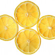 Lemon slice — Stock Photo #4084306