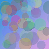 Illustration background with bubble — Stock Photo