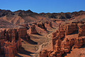 Canyon i centralasien — Stockfoto