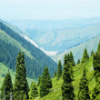 Mountain landscape, Central Asia, Kazakhstan — Stock Photo
