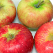 Group of red apples — Stock Photo #5011147
