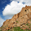 Landscape  with crag, rock — Stock Photo