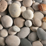 Pebble close-up — Stock Photo
