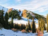 Mountain landscape, Central Asia, Kazakhstan — Stockfoto