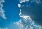 Cloudscape as background — Stock Photo