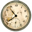 Stockfoto: Old pocket watch isolated