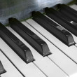 piano key — Stock Photo