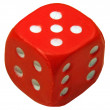 Stock Photo: Red dice