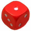 Red dice — Stock Photo #5376564