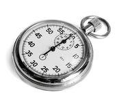 Stopwatch on white — Stock Photo
