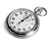 Cronómetro en blanco — Foto de Stock