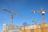 Hoisting-crane — Стоковое фото