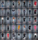 Farklı kıyafetler — Stok fotoğraf
