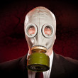 Person in a gas mask — Stock Photo #5173079