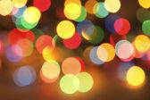 Defocused Christmas lights background — Stock Photo