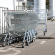 Commodity carts — Stock Photo #3946732