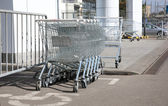 Commodity carts — Stock Photo