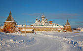 Kind on the Solovetsky monastery — Stock Photo