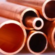 Set of copper pipes — Stock Photo #4643924