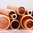 Royalty-Free Stock Photo: Set of copper pipes