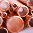 Set of copper pipes — Stock Photo #4643939
