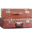 Two old suitcases. — Stock Photo #4643946