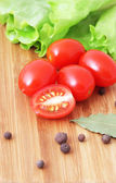 Dojrzałe pomidory — Zdjęcie stockowe
