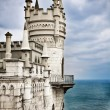 Well-known castle Swallow&#039;s Nest near Yalta in Crimea, Ukraine - Stock Photo