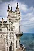 Well-known castle Swallow's Nest near Yalta in Crimea, Ukraine — Stockfoto