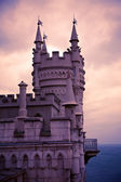 Well-known castle Swallow's Nest near Yalta in Crimea — 图库照片