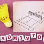 Постер, плакат: Badminton