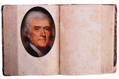 Thomas Jefferson - 3-rd President — Stock Photo