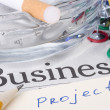 business project — Stock Photo