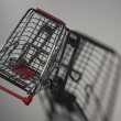 Stock Photo: Empty shopping cart