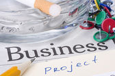 Progetto di business — Foto Stock