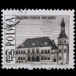 Poland - CIRCA 1966: A stamp - Academy — Stock Photo