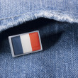 Flag of France — Stock Photo #4120808