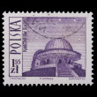 Poland - CIRCA 1966: A stamp - Planetarium — Stock Photo